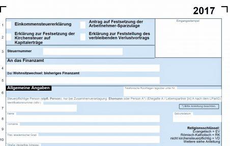 Abgabefrist Steuererklärung 2017 Steuerberater Wilhelm Wiesbaden