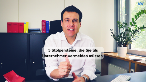 5 Stolpersteine - Steuerberater Matthias Wilhelm Wiesbaden